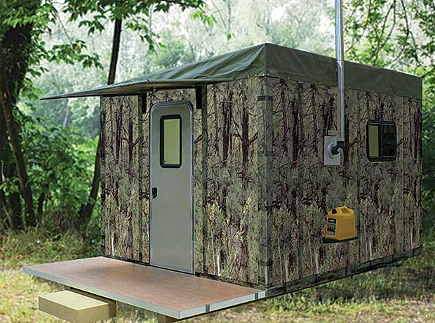 Portable Bug Out Shelters : Rigid tent systems